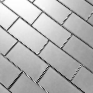 Eternal Silver Matte Straight Edge