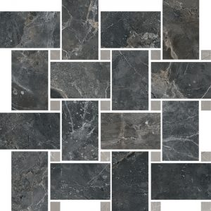 Boutique HBO 8 Intreccio Basketweave Mosaic Polished