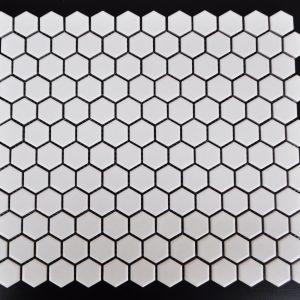 """MG Snow White 1""""x1"""" Hexagon Glazed Porcelain.jpg"""