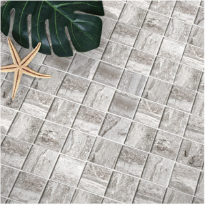 Stone Grain Grey Mosaic