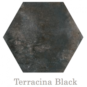 Terracina Hex Black