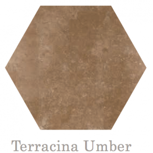 Terracina Hex Umber