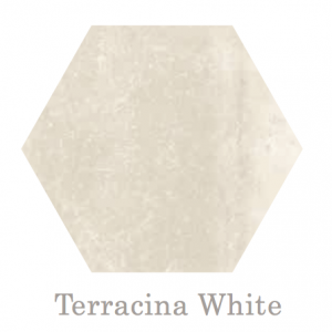 Terracina Hex White