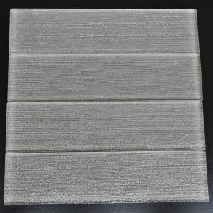 YS523 Smoke Textured Pattern Glass Plank