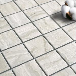 Stone Grain Marfil Mosaic
