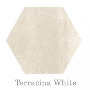 Terracina Hex White
