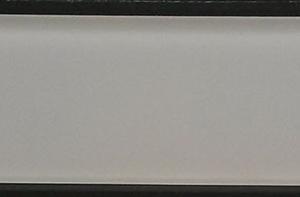 YS520M Ivory Beige Plain Matte Glass Plank