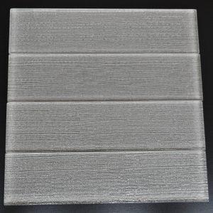 YS523 Smoke Textured Pattern Glass Plank