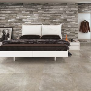 Pave Wall Wood Brick Grey Frost Proof Porcelain Rectified 175333