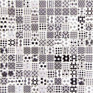"Moma Print Graphics 1""x1"" Mosaic"