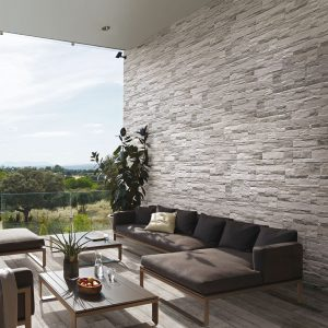 Pave Wall Wood Brick White Frost Proof Porcelain Rectified 175331